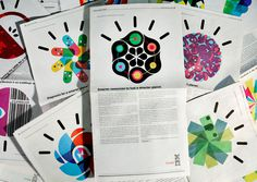 Office | Work | IBM / Designing a Smarter Planet #office #publication #illustration #ibm #layout #brochure #typography