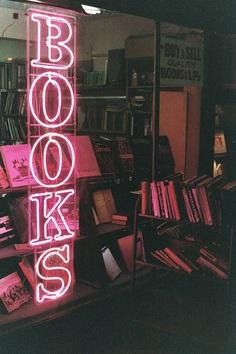 neighborhood books neon