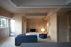 Apartment for K by kurosawa kawara-ten #minimal interior #minimalism #interior design