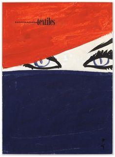 International Textiles cover No. 338, I 1961 | MODESQUISSE