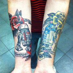 Droid Sales Comparison Tattoo #r2 #d2