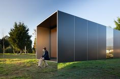 MIMA Light is a minimalist modular house showcased in Viana do Castelo, Portugal, created by MIMA Architects.