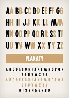 Novo Typo - Plakaty - Type specimen