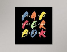 Portfolio of Luke Robertson | Papperbok – Sing It Out #luke #design #graphic #robertson #poster #typography