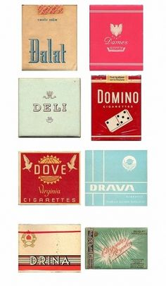 Typography / cig packs #packs