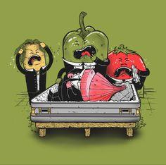 Vegetable Tragedy by Madkobra