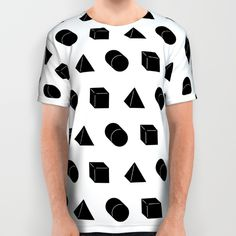 #shapes #pattern #rickardarvius #tshirt #artprint #illustration #vectorart #fashion