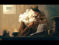 Inspector Cumulus by =Manarama on deviantART #illustration