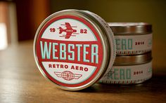 Webster Retro Aero xe2x80x94 The Dieline #retroaero #by #webster #for #beautiful #work