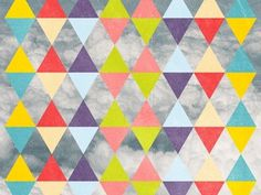 Dribbble - Flying Triangles by Florin Gorgan #flying #abstract #print #triangles