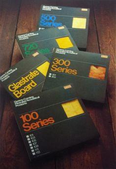 OC_fibreglasspacks.jpg 1269×1845 pixels #print #design #vintage #packaging #70s #typographic #owens #coming