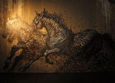 IMG_1565 #grafitti #horses #art #street
