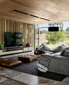 80 Modern TV Wall Decor Ideas - InteriorZine - #tv #wall #livingroom #decor #design #furniture #interior