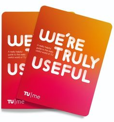 Tu, Me, and Everyone We Know - Brand New #pink #card #orange #logo #typography