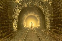 Ryan McGinley #golden #ryan mcginley #tunnel