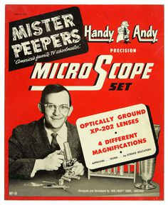 Vintascope: Photo #mister #peepers #vintage #typography