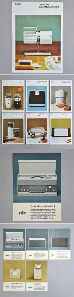 Braun Brochures | AisleOne #braun #brochure