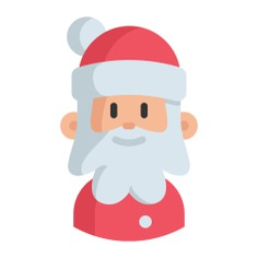 See more icon inspiration related to avatar, user, character, Father Christmas, santa claus, xmas and christmas on Flaticon.