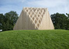 Khor I temporary theatre by TAAT #pavillion #pavilion #architecture