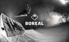 BOREAL MOUNTAIN IDENTITY & AD CAMPAIGN #logo #mountain #symbol #branding
