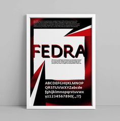 Random – Posters on Behance #font #bilak #pitar #promotional #typeface #poster #promotion #fedra