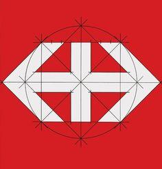 xUwct.jpg (444×465) #mark #hans #hartmann #geometric #grid #brand #logo