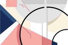 fragments #line #vector #design #color #shape #poster