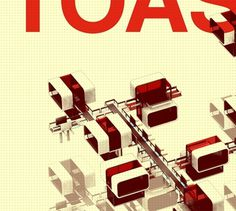 TOASTER CITY by onat öktem on the Behance Network #city #digitalart #architecture #toastercity