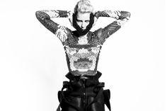 Chrissie Houtkooper / designer / illustrator #white #print #graphic #black #fashion