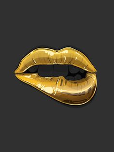 Goldie Gaks Designs #lips #illustration #design