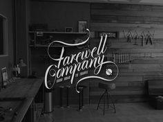Farewell Co. on Behance #logo #logotype #farewell #co