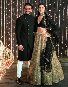 Deepika Padukone wedding reception outfit