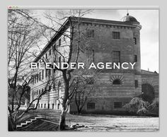 Blender Agency #website #layout #design #web
