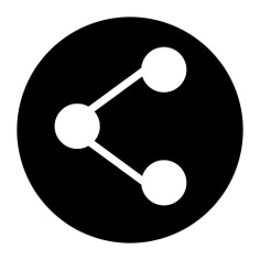 See more icon inspiration related to share, connector, social media, multimedia, social network, circles, shapes and interface on Flaticon.