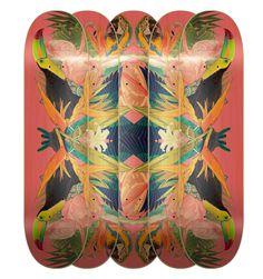 Tropical Kaleidoscope by Maria Umiewska