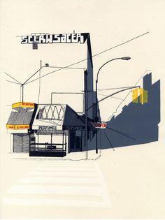jessie douglas illustration illustrator drawing #illustration #drawings #perspectives #jessie douglas