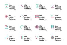 The Project Factory on Behance #logo #identity #system #dynamic