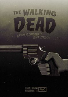 brain food:A self initiated poster for AMC networks The Walking Dead. Made by Radio
