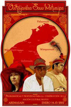VEGA GOURIYU #print #design #indigenous #illustration #wayuu #poster
