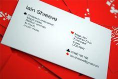CHRIS JAMES CREATES... A PORTFOLIO WEBSITE |07595 303828 #card #design #graphic #business