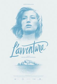L'avventura Poster #print #design #graphic #illustration #poster