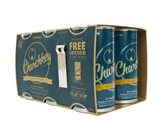 lovely-package-churchkey-4 #packaging #beer #minimalist #beverage