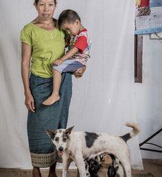 Pet owners of Laos by Ernest Goh #inspiration #photography #portrait