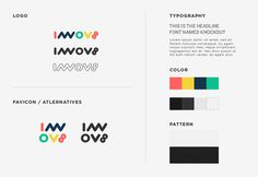 Innov8 Co working space Identity guideilne #branding #logodesign #identity #startup #process #graphicdesign