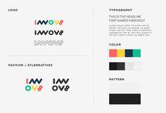 Innov8 Co working space Identity guideilne #branding #logodesign #identity #startup #process #graphicdesign