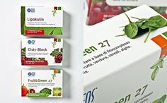 Packaging by www.o-zone.it #packaging #collection #healty #nature #pack