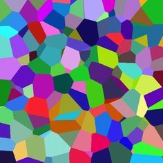 File:Coloured Voronoi 3D slice.png - Wikipedia, the free encyclopedia #diagram #science #voronoi