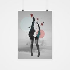 Find me in the wasteland of your mind. #abstract #poster #manipulation #photoshop #A3 #print #birds #legs #minimalist #wallart #design #huma