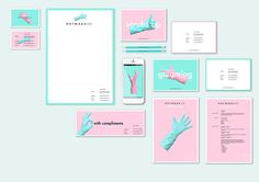 Pot Wash Josh Brand Identity © on Behance #identity #stationary