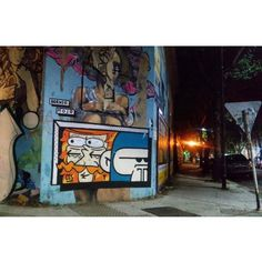 Borneo and Mojo // Buenos Aires, Argentina #buenosaires #streetart #street